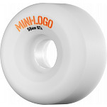 Mini Logo A-cut Wheel 58mm 97a White 4pk