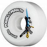 Powell-Peralta Skull & Sword 58mm 90a - White (4 pack)