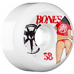 BONES WHEELS SPF Booty 58mm 4pk