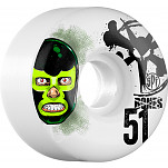 BONES WHEELS SPF Lucha Libre 51mm 4pk