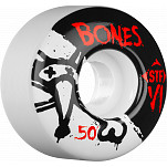 BONES WHEELS STF Skinny BONES 50mm (4 pack)