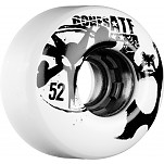 BONES WHEELS ATF Da Bear 52mm White 4pk