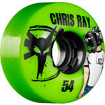 BONES WHEELS ATF Filmer Chris Ray 54mm - Green (4 pack)