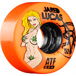 BONES WHEELS ATF Filmer Jared Lucas 52mm - Orange (4 pack)