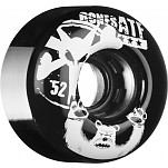 BONES WHEELS ATF Po Bear 52mm Black 4pk