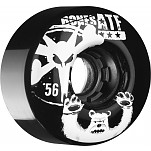 BONES WHEELS ATF Po Bear 56mm Black 4pk