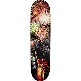 Mini Logo Small Bomb Skateboard Deck 181 Fireworks - 8.5 x 33.5