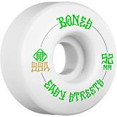 BONES WHEELS STF Easy Streets Skateboard Wheels V1 Standard 52mm 99a 4pk