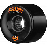 Mini Logo A.W.O.L. Skateboard Wheels A-cut Black 59mm 78A 4pk