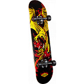 Powell Golden Dragon Flying Dragon 2 Complete Skateboard - 7.625 x 31.625