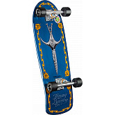 Bones Brigade Guerrero Series 7 Skateboard Complete Blue- 9.6 x 29.13