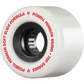 Powell Peralta Snakes Skateboard Wheels 66mm 75a 4pk White