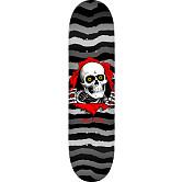 Powell Peralta Ripper Skateboard Deck Gray - Shape 249 - 8.5 x 32.08