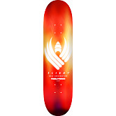 Powell Peralta Flight® Skateboard Deck Glow Red - Shape 242 -  8 x 31.45