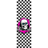 Powell Peralta Grip Tape Sheet 9 x 33 Ripper Checker (White)