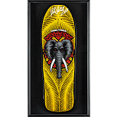 Powell Peralta Shadowbox Mike Vallely Blem Skateboard Deck Signed By Mike