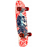 Powell Peralta Mini Skull & Sword White Complete Skateboard - 8 x 30
