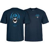 Powell Peralta Welinder Nordic Skull T-shirt - Navy