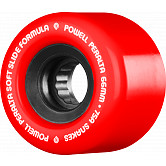 Powell Peralta Snakes Skateboard Wheels 66mm 75a 4pk Red
