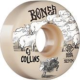 BONES WHEELS PRO STF Skateboard Wheels Collins Black Sheep 52mm V3 Slim 99A 4pk