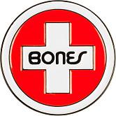 Bones Bearings Lapel Pin Swiss Circle