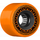 BONES WHEELS ATF Rough Rider Tank Skateboard Wheels 56mm 80a 4pk Orange