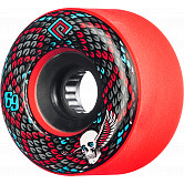 Powell Peralta Snakes Skateboard Wheels 69mm 75a 4pk Red