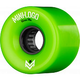 Mini Logo A.W.O.L. Skateboard Wheels A-cut Green 66mm 78A 4pk