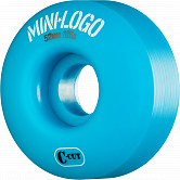 Mini Logo Skateboard Wheels C-cut 52mm 101A Blue 4pk