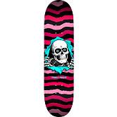 Powell Peralta Ripper Skateboard Deck Pink - Shape 244 - 8.5 x 32.08