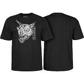 Bones Wheels Time Beasts Werewolf T-shirt Black