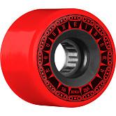BONES WHEELS ATF Rough Rider Tank Skateboard Wheels 56mm 80a 4pk Red