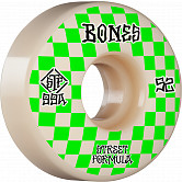BONES WHEELS STF Skateboard Wheels Patterns 52 V3 Slims 99A 4pk