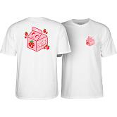 BONES WHEELS Pro Lizzie Spilt Milk T-shirt White