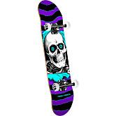 Powell Peralta Ripper One Off Skateboard Purple/Turq - 8 x 32.125