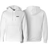 BONES WHEELS Hooded Sweatshirt Mikey White