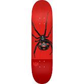 "MINI LOGO POISON ""16"" SKATEBOARD DECK 243 K20 BLACK WIDOW - 8.25 x 31.95"