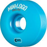 Mini Logo Skateboard Wheels C-cut 54mm 101A Blue 4pk