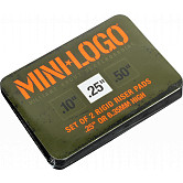 """Mini Logo .25"""" Rigid Riser (2 pack)"""