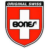 Bones Swiss Bearings Shield Ramp Sticker Single 15.75