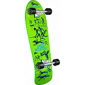 Bones Brigade Mountain Series 1 Skateboard Complete Green- 10 X 30.75