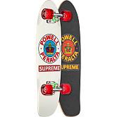 Powell Peralta Sidewalk Surfer Supreme White Cruiser Complete Skateboard - 7.75 x 27.20 WB 14.0