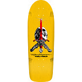 Powell Peralta Ray Rodriguez OG Skull and Sword Skateboard Deck Yellow - 10 x 30