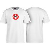 Bones® Bearings Swiss Circle T-Shirt - White