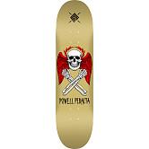 Powell Peralta Halo Bolt Blem Skateboard Deck Gold 247 K20 - 8 x 31.45