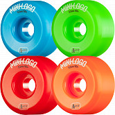Mini Logo Skateboard Wheels A-cut 53mm 90A Assorted 4pk
