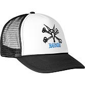 Powell Peralta Vato Rat Bones Trucker Cap - White/Black