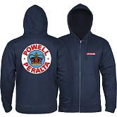 Powell Peralta Supreme Zip Hooded Sweatshirt Navy