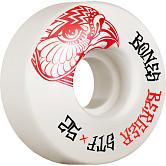 BONES WHEELS PRO STF Skateboard Wheels Berger Falcon 52mm V3 Slims 103A 4pk