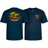 Powell Peralta Oval Dragon Navy T-shirt
